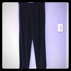 ANNE KLEIN II Tuxedo Pants 12P NWOT
